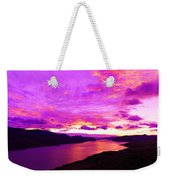 Kamloops Lake At Dawn Weekender Tote Bag