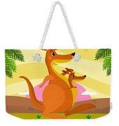Kangaroos Weekender Tote Bag