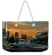 Kansas City Evening Weekender Tote Bag