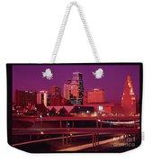 Kansas City Skyline 1991 Weekender Tote Bag