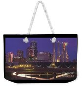 Kansas City Skyline 1998 Weekender Tote Bag