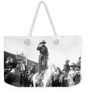 Kansas: Cowboy, C1908 Weekender Tote Bag