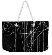 Kaon Proton Collision Weekender Tote Bag by SPL and Photo Researchers