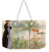 Karin By The Shore Weekender Tote Bag
