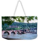 Karl Theodor Bridge And Heidelberg Castle  Weekender Tote Bag