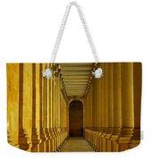 Karlovy Vary Colonnade Weekender Tote Bag