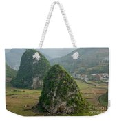 Karst Landscape, Guangxi China Weekender Tote Bag