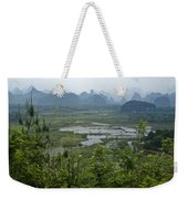 Karst Landscape Of Guangxi Weekender Tote Bag