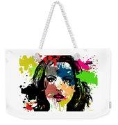 Kate Beckinsale Pop Art Weekender Tote Bag