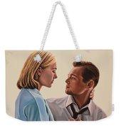 Kate Winslet And Leonardo Dicaprio Weekender Tote Bag