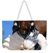 Kateri Tekakwitha Santa Fe Weekender Tote Bag