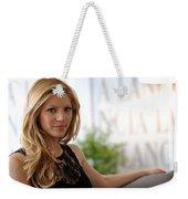 Katheryn Winnick Weekender Tote Bag
