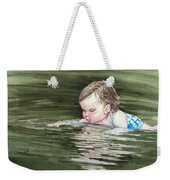 Katie Wants A River Rock Weekender Tote Bag