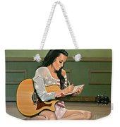 Katy Perry Painting Weekender Tote Bag