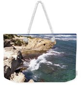 Kauai Coast With Shark Outcrop Weekender Tote Bag