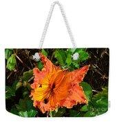 Kauai Hibiscus Weekender Tote Bag