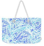 Kaua'i Ocean Leaves Weekender Tote Bag