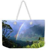 Kauai Rainbow Weekender Tote Bag
