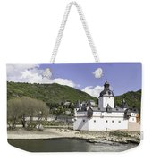 Kaub And Burg Pfalzgrafenstein Weekender Tote Bag