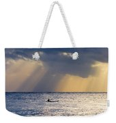 Kayak At Dawn Weekender Tote Bag