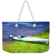 Kayak In Upstate Ny Weekender Tote Bag