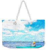 Kayak Lesson Weekender Tote Bag
