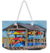 Kayak Rainbow Weekender Tote Bag