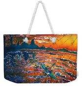 Kayak Serenity  Weekender Tote Bag