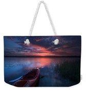 Kayak Sunrise Weekender Tote Bag