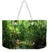 Kayaking In Tropical Paradise Weekender Tote Bag