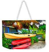 Kayaks In Paradise Weekender Tote Bag