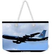 Kc-135r Stratotanker Poster Weekender Tote Bag