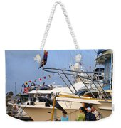 Keels And Wheels Yachta Yachta Yachta Yachta Weekender Tote Bag