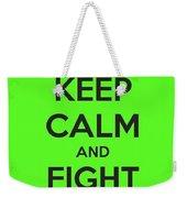 Keep Calm And Fight Lyme Weekender Tote Bag