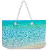 Keep Calm And Listen To The Sea Weekender Tote Bag