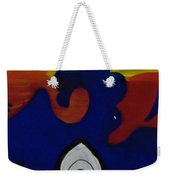 Keep It Wavy Weekender Tote Bag