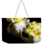 Keep Smiling Iris  Weekender Tote Bag
