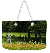 Keeping Out The Wild Weekender Tote Bag