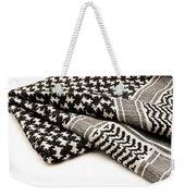 Keffiyeh Weekender Tote Bag by Fabrizio Troiani