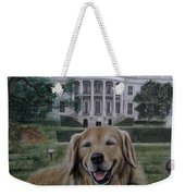 Kelli On The White House Lawn Weekender Tote Bag