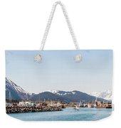 Seward Alaska Kenia Fjord Port Weekender Tote Bag