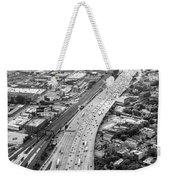 Kennedy Expressway And Chicago Skyline Weekender Tote Bag