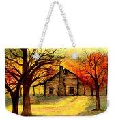 Kentucky Cabin Weekender Tote Bag