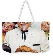 Kentucky Fried Chicken Ad Weekender Tote Bag