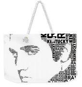 Kentucky Rain Elvis Wordart Weekender Tote Bag