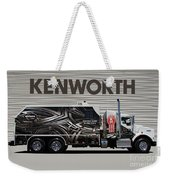 Kenworth Proudly Made In The Usa Weekender Tote Bag