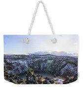 Kerid Crater Weekender Tote Bag