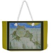 Kermit Sez Weekender Tote Bag