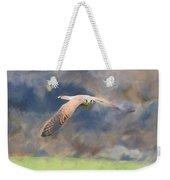 Kestrel Flying Weekender Tote Bag