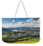 Keswick And Derwent Water View From Latrigg Weekender Tote Bag